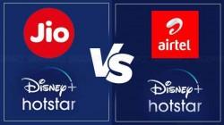 Disney+ Hotstar VIP ను ఉచితంగా అందిస్తున్న ఎయిర్టెల్,జియోలలో ఏది బెస్ట్?