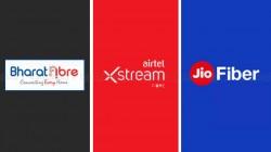 Airtel vs JioFiber vs BSNL :రూ.999 ధర వద్ద సర్వీస్ ప్రొవైడర్ల బ్రాడ్బ్యాండ్ ప్లాన్లలో ఇదే బెస్ట్..